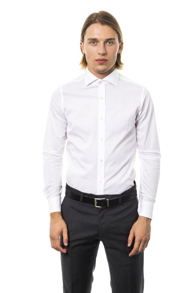 Camicia Capri Collo Francese Bianco