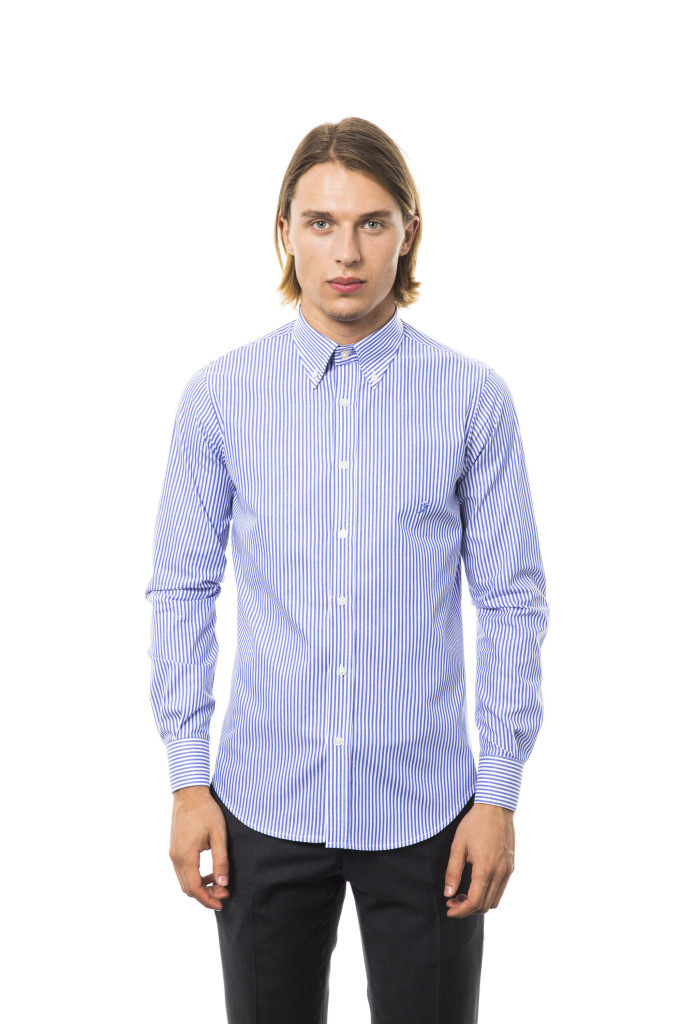 Camicia Roma Botton Down Blu