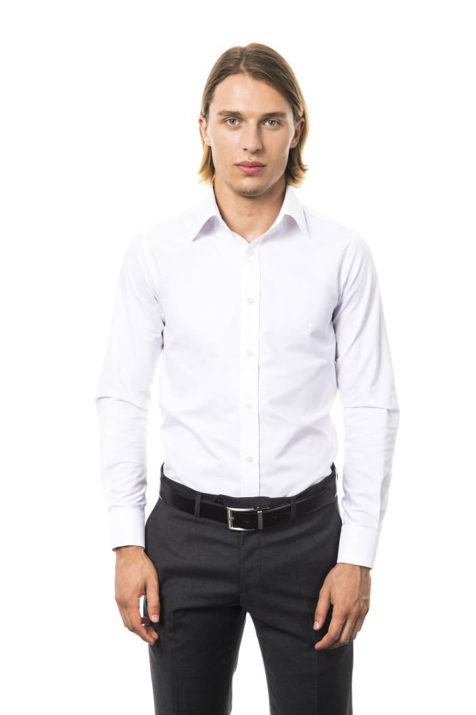 Camicia Venezia Collo Italiano Bianco Oxford